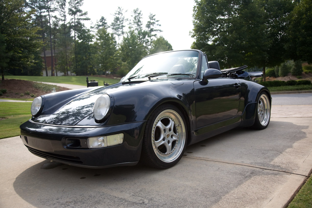 one of a kind widebody 964 cab for sale rennlist. Black Bedroom Furniture Sets. Home Design Ideas